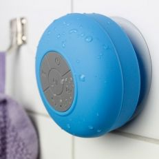 Vattentät bluetoothhögtalare med sugkopp