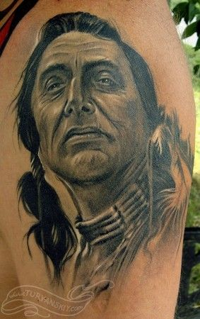 24 best native warrior tattoos images on pinterest for Native american warrior tattoos