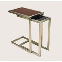 Soho Alfa Nesting Table Large U0026 Small Wenge Oak | Great Furniture Deal