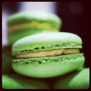 Pistachio macarons. Find me at facebook.com/tikisbakehouse or tikisbakehouse.blogspot.co.uk