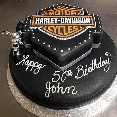 Harley davidson Birthday Cake Idea