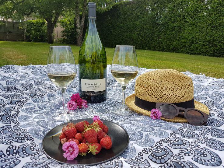 #Un bon Chablis à déguster avec les #verres #Spiegelau #Wine #Tasting #Glass // Découvrez bientôt le test d'Atelier de Tendances !
