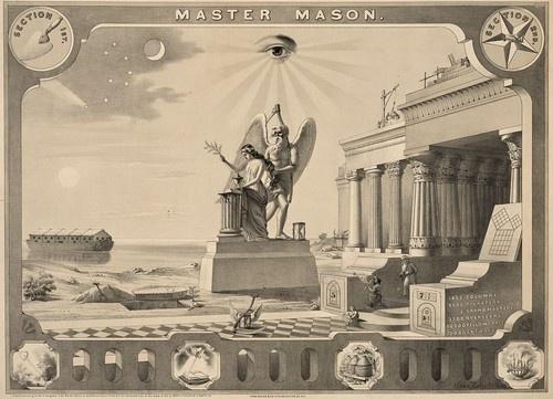 Masonic Freemason Lodge Grand Master Mason Fellow Craft Bible 13x19 Print | eBay