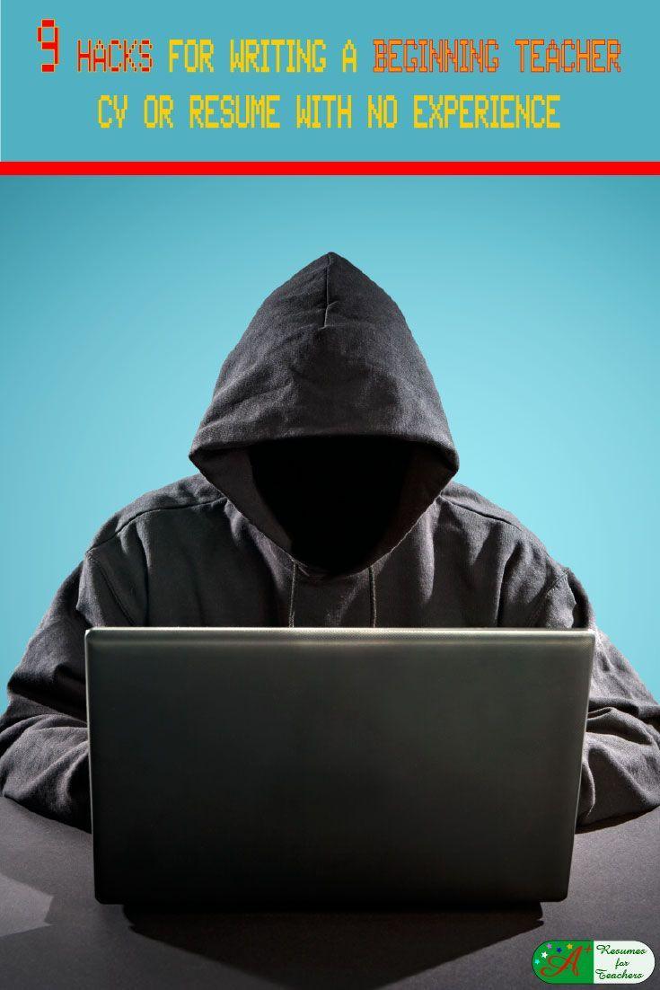 9 Hacks for Writing a Beginning Teacher