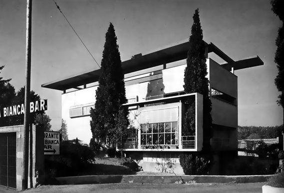 Giuseppe Terragni - Villa Bianca, Seveso, Italy (1936)