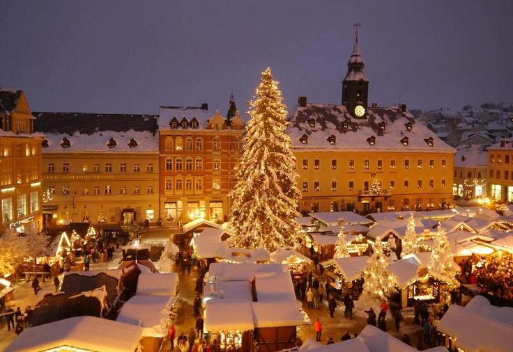 Annaberg Buchholz. Weihnachtsmarkt.