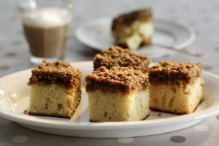 Danish Dream Cake (Drømmekage fra Brovst) - I grew up with this favorite cake as part of my Danish heritage.