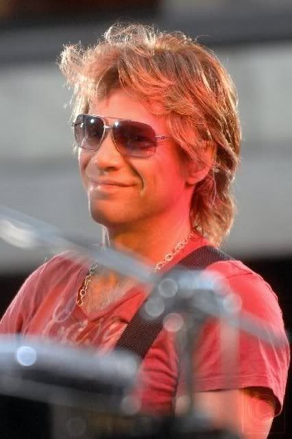 Jon Bon Jovi gotta love that smile.