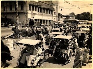 Pintu Air in 1950, Jakarta
