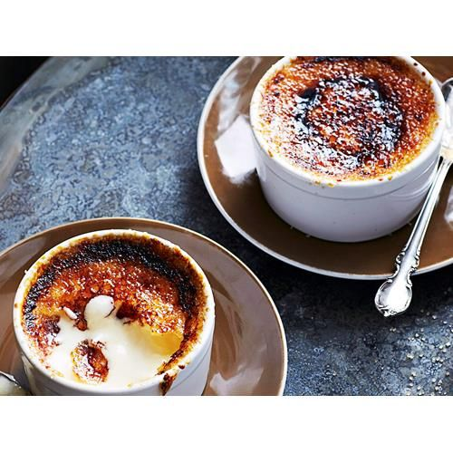 Creme brulee recipe - By Woman's Day, A rich vanilla custard topped with a…