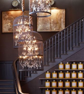 bird cages filled with lights | CostMad do not sell this idea/product. Please visit our blog for more funky ideas