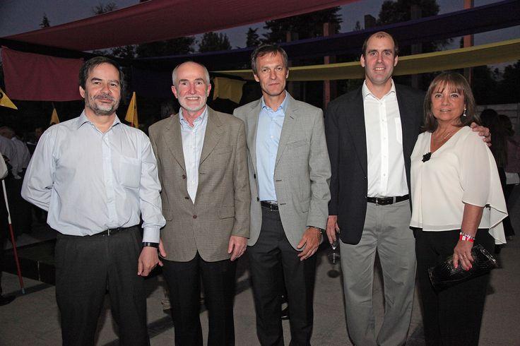 Francisco Diaz-Valdés, Adelchi Colombo, Fabián Wulf, Martín Swett y  María Rebeca Bascuñán