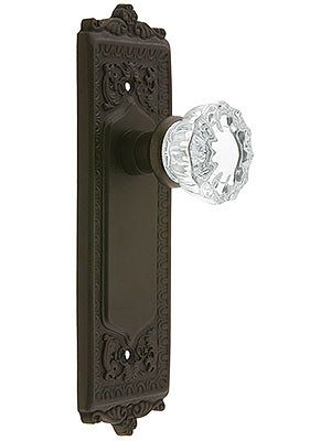 Egg Dart Style Door Set With Fluted Crystal Gl S In 2018 Home Sweet Pinterest And Decorative
