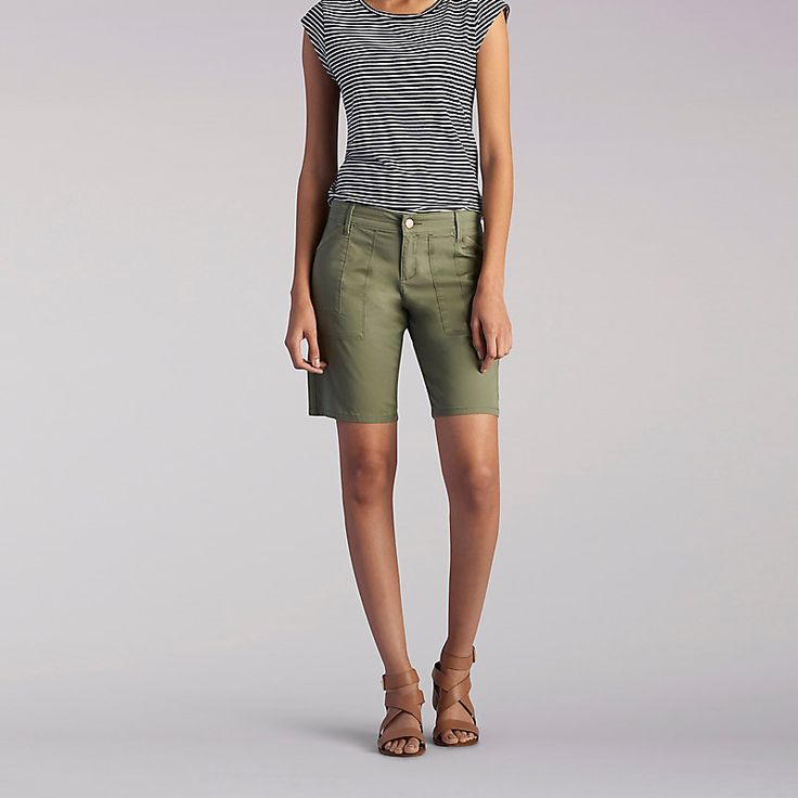 Lee Women's Cassia Bermuda - Petite::12:P Shorts