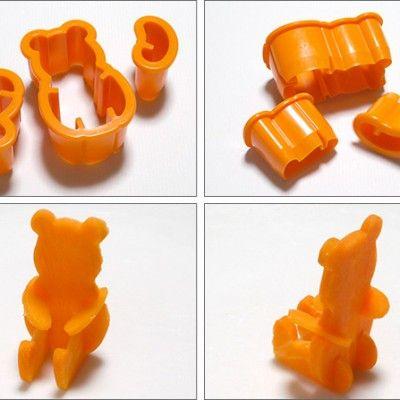 Vegetable Cutter – Bear http://littlebentoworld.com/shop/food-cutters/vegetable-cutter-bear/