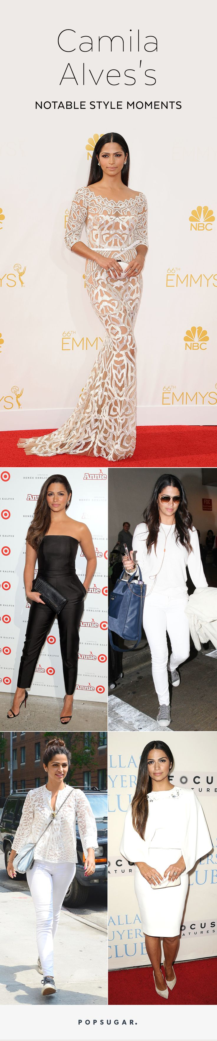 If the name Camila Alves doesn't already come to mind when you think of stylish celebs, one look at her best fashion choices will change that for good.
