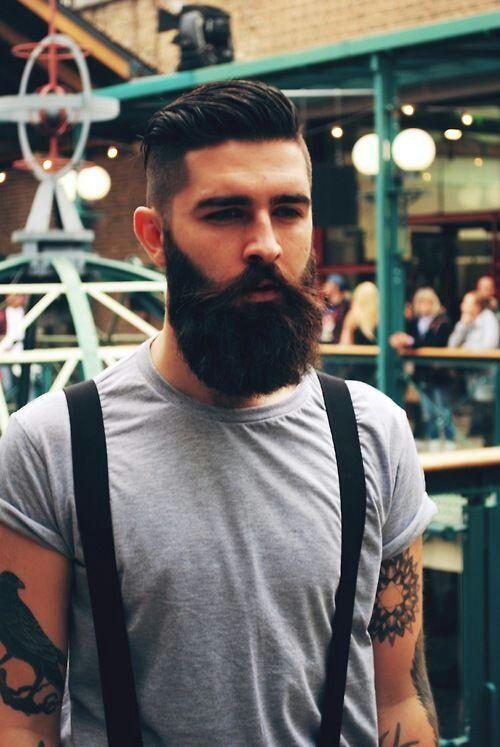 tattoos ink beard mens hair chris john millington asifthisisme