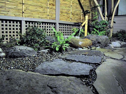 Japanese tsukubai water basin zen garden ornaments - Japanese garden water basin ...