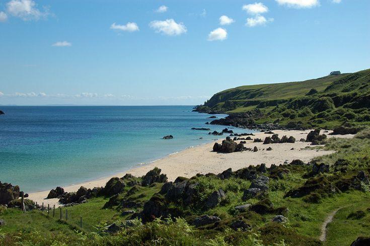 the singing sands, isle of islay