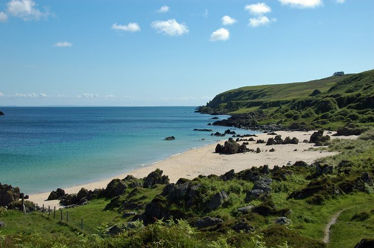 the singing sands, isle of islay