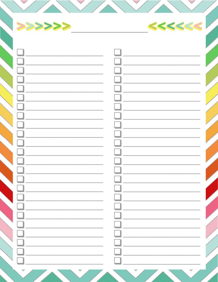 Best 25+ Checklist template ideas on Pinterest Weekly house - Daily Task Calendar Template
