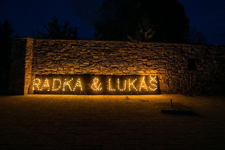 Radka & Lukáš 4.7.2016 | Wedding Candle Decoration