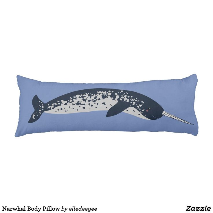 Narwhal Body Pillow