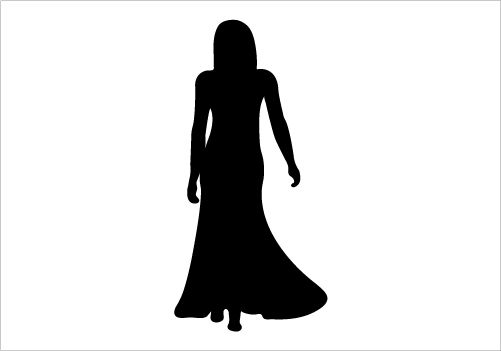 WOMAN SILHOUETTE Silhouette Graphics | WOMAN SILHOUETTE ...