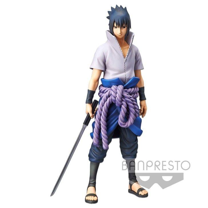 Naruto Figurine Grandista Sasuke V2 Shinobi Relations par Banpresto
