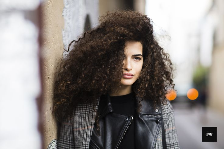 Italian Model Chiara Scelsi during Paris Fashion Week Fall Winter 2016