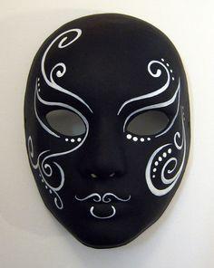 Paisley Swirls Maskeler 2019 Mask Painting Ceramic Mask Ve