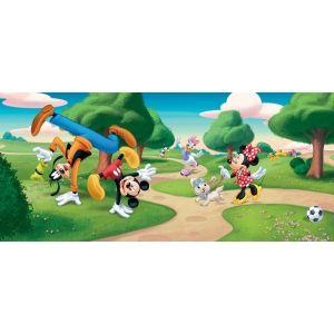 Fotomurales de Disney, Fotomural Panoramico de Disney MICKEY MOUSE Y SUS AMIGOS EN EL PARQUE