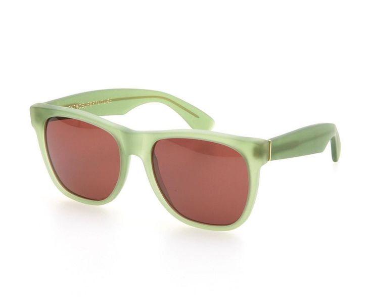 Super Basic Sunglasses / Handmade in Italy with Zeiss lenses and acetate frames. Acetate frame / Made in Italy / Color: mat light green Please refer to the item measurements link below for... More Details