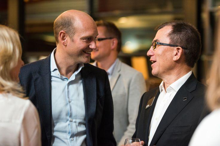 Casper Schwarz and Heikki Martela at the Martela Open Day -2013 on the 19th of September