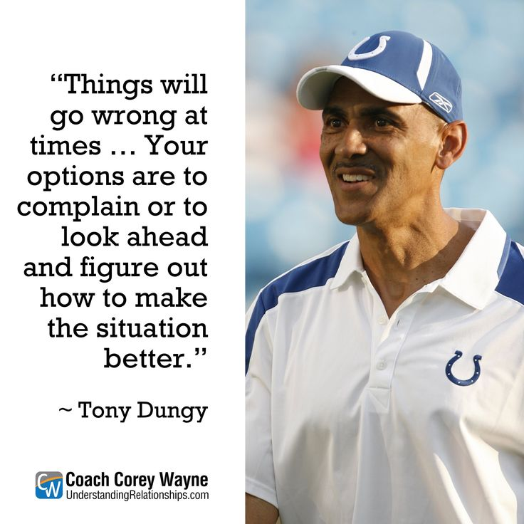 leadership lessons pausch and dungy Dungy used a story hed heard his mother tell many times in his youth: the biblical epic of david and goliath we had someone out there who seemed a little bigger than life, says dungy of the new england team, finally tamed by indianapolis 3834.