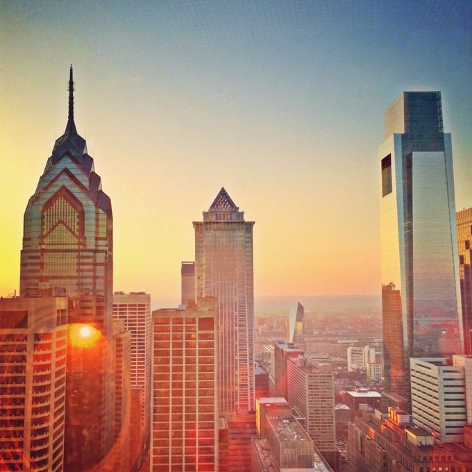 Philadelphia City Hall's Observation deck. (Photo by J. Zale)