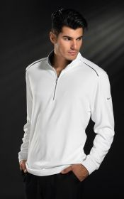 Promotional Products Ideas That Work: DRI-FIT 1/2 ZIP COVER UP. Get yours at www.luscangroup.com