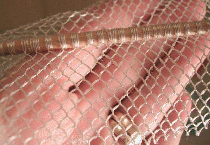 How to make a period hair net.