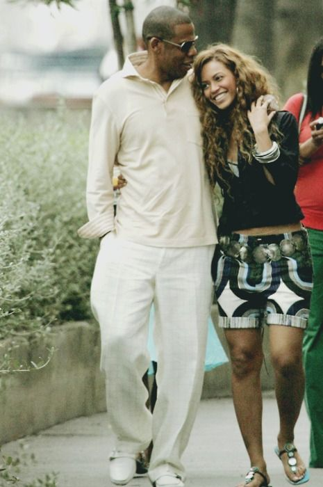 Beyonce and Jay are such a style inspiration here