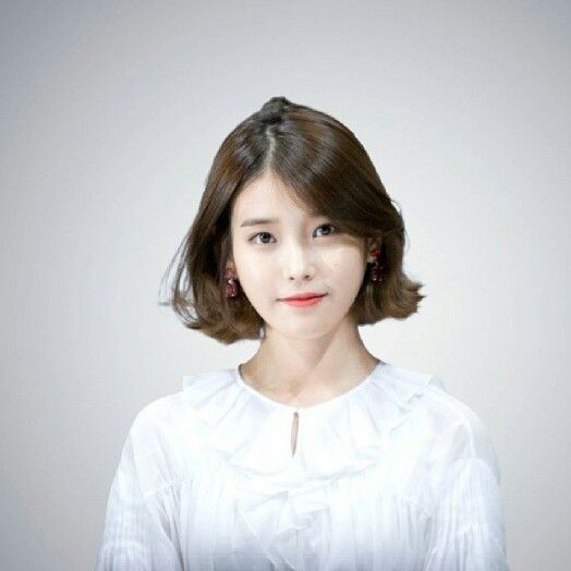 아이유 IU Short Haircut