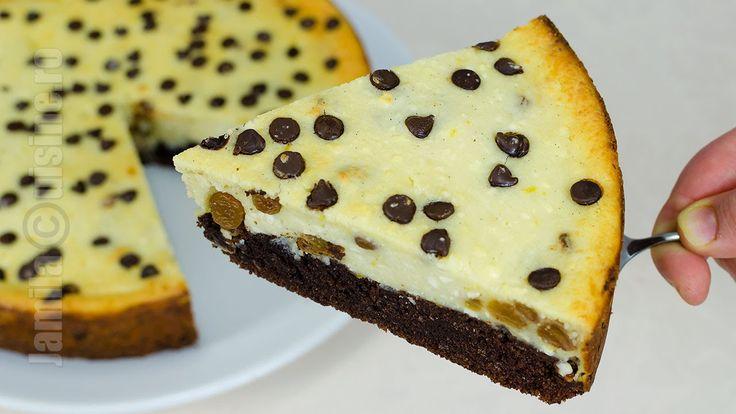 Pasca cu ciocolata si branza - JamilaCuisine