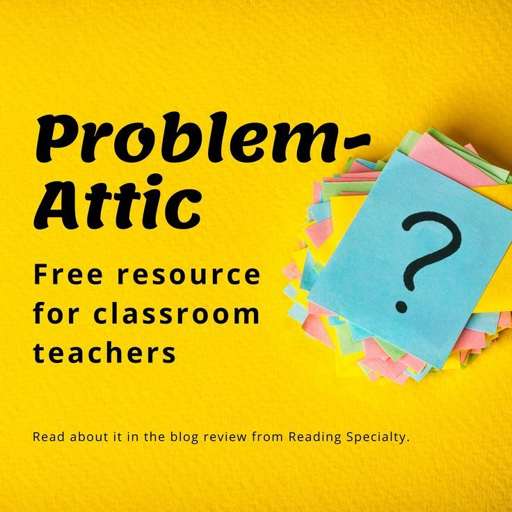 Problem Attic Review Of A Free Teacher Tool And Question Bank Free Teacher Resources Teacher Tools Free Teacher