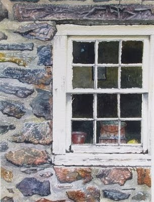 Firm Foundation,  watercolor  Andy Smith
