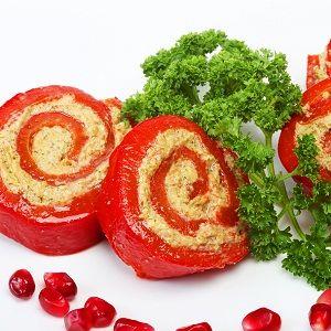 Γεμιστές πιπεριές με πλιγούρι (μόνο 300 θερμίδες)