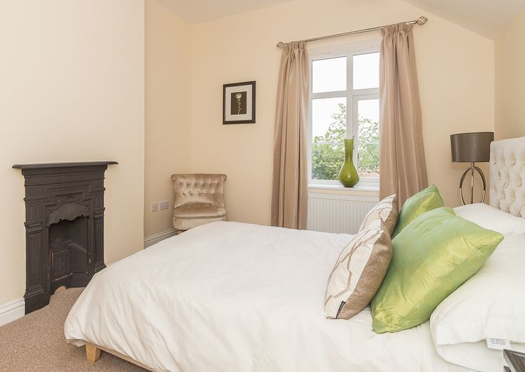 Woodside Show home - bedroom in Worcestershire development. Interiors by Bayswater Interiors.