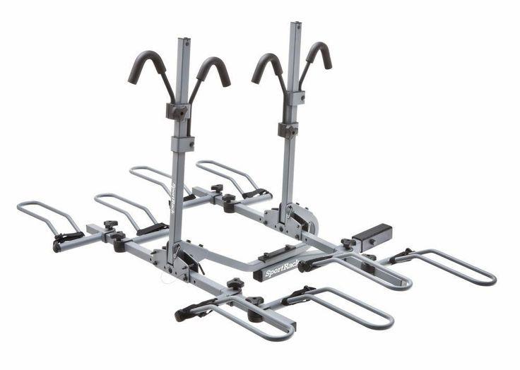New SportRack 4-Bike Tilting Platform Hitch Rack #ThuleGroup