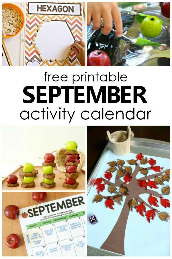 September Preschool Themes : september, preschool, themes, September, Preschool, Activities, Things, Fantastic, Learning, Activities,, Preschool,