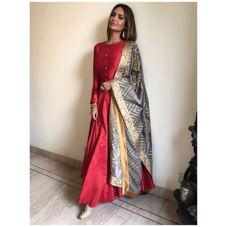 "55.4k Likes, 261 Comments - Esha Gupta (@egupta) on Instagram: ""There is a shade of red for every woman- Audrey Hepburn.."""