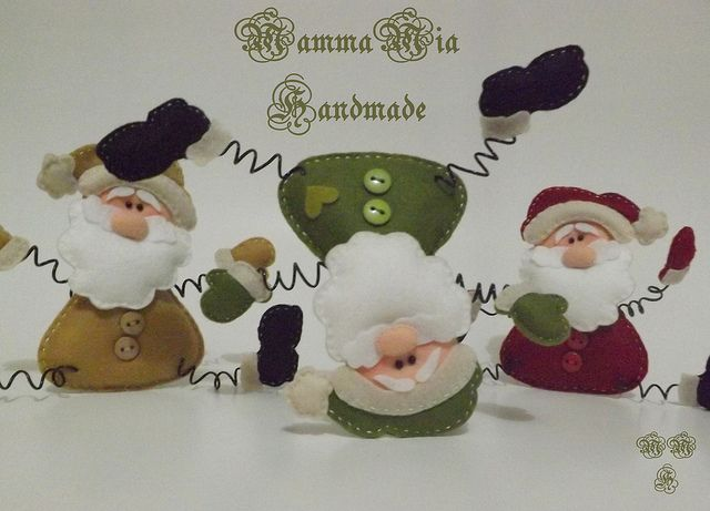 É Natal!!!!!!!! by Mamma Mia Handmade, via Flickr