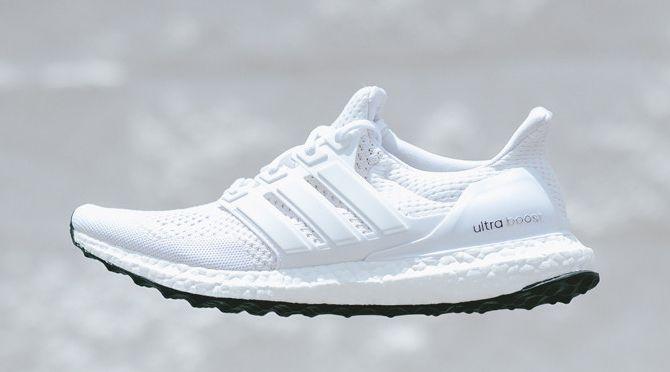 adidas Ultra Boost White White Black | Sole Collector